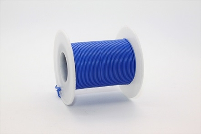 24/7 Wire Blue 100ft Spool