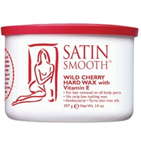 Satin Smooth Wild Cherry Hard Wax 14 oz.