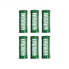 "Jet Set EZ Green Grip Rollers 7/8"" 6/pk"