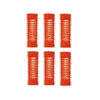 "Jet Set EZ Orange Grip Rollers 1 1/16"" 6/pk"
