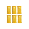 "Jet Set EZ Yellow Grip Rollers 1 1/4"" 6/pk"