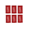 "Jet Set EZ Red Grip Rollers 1 1/2"" 4/pk"
