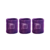 "Jet Set EZ Purple Grip Rollers 2 1/8"" 3/pk"
