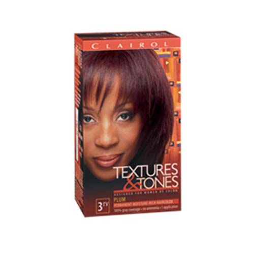 Clairol Texture Amp Tones 3rv Plum Clairolhair Amp Skin Products