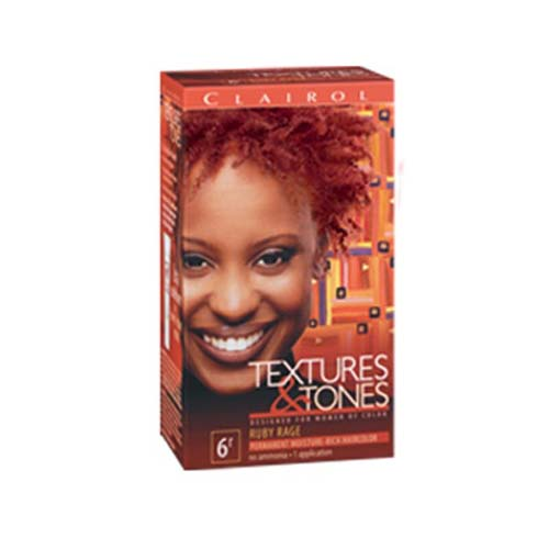 Clairol Texture Amp Tones 6r Ruby Rage Clairolhair Amp Skin