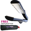 TurboIon Croc Titanium Wet to Dry Flat Iron 1-1/2""