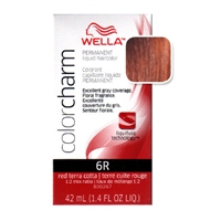 Wella Color Charm Liquid Haircolor 6R Red Terra Cotta 14 Oz WELLAHair Amp