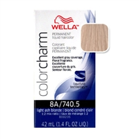 Wella Color Charm Liquid Haircolor 740.5 Light Ash Blonde 1.4 oz
