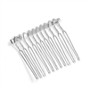 "Silver Comb Adapter for Brooches - 1 1/2"" Wide<br>4063HP-S"