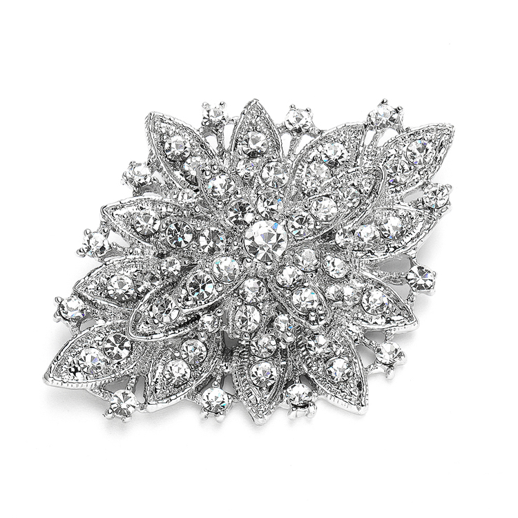 Best Selling Vintage Floral Bridal Brooch<br>471P