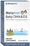 Metagenics OmegaGenics Baby DHA & D3