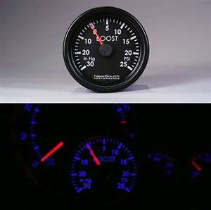 Indigo Boost Gauge