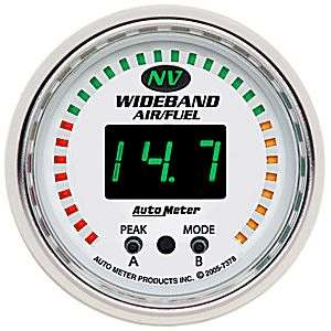Auto Meter NV Wideband Air/Fuel Ratio