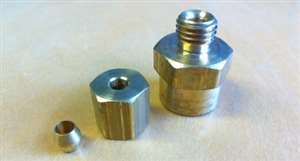 Compression Fitting for Mechanical Gauge