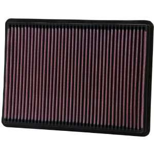 K&N 33-2233 High-Flow Replacement Air Filter for many Jeep models