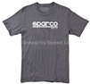 Sparco T-Shirt Corporate Gray SP02600GR
