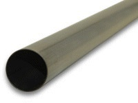 "Stainless Steel Straight Tubing, 3.50"" OD, 5 ft. length"