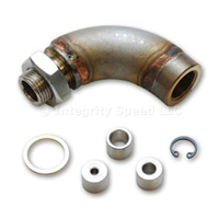 Vibrant J-Style Oxygen Sensor Restrictor Fitting with Adjustable Gas Flow Inserts