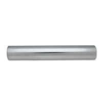"Polished Aluminum Straight Tubing, 2.00"" Diameter"