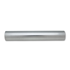 "Polished Aluminum Straight Tubing, 3.50"" Diameter, Vibrant Performance, VIB-2892, 2892"