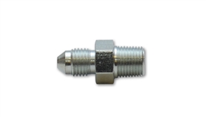 "Straight Adapter Fitting; Size: -3AN x 1/8"" NPT Steel"