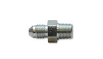 "Straight Adapter Fitting; Size:-4AN x 1/8"" NPT Steel"