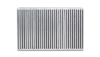 "Vertical Flow Intercooler Core, 18"" Wide x 6"" High x 3.5"" Thick"