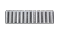 "Vertical Flow Intercooler Core, 24"" Wide x 6"" High x 3.5"" Thick"