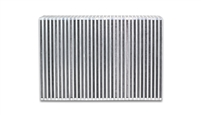 "Vertical Flow Intercooler Core, 12"" Wide x 8"" High x 3.5"" Thick"