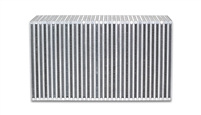 "Vertical Flow Intercooler Core, 18"" Wide x 12"" High x 6"" Thick"
