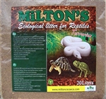 Milton's Coco Bedding for Reptiles - fine / peat