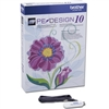 Brother PE Design 10 Advanced Embroidery Software