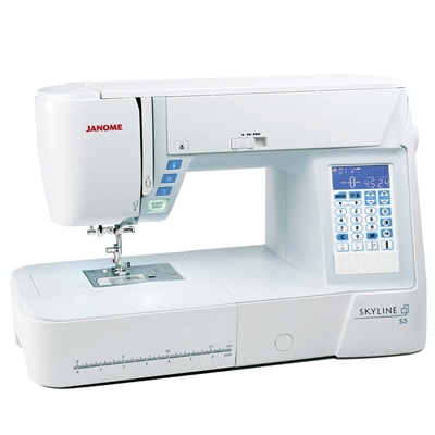 Janome Skyline S3 Quilting / Sewing Machine