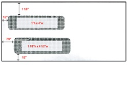 "Double Window Check Envelope - Size 9.5 (4 1/4"" X 9"")"