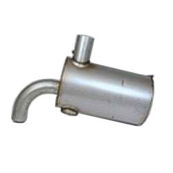Nelson Global Products muffler, part number 13900T.
