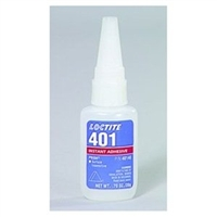 10 Pack Loctite 401 Prism Instant Adhesive, Surface Insensitive - 3 g