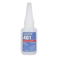 10 Pack Loctite 401 Prism Instant Adhesive, Surface Insensitive - 20 g