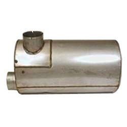 Nelson Global Products muffler, part number 86757M.