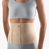BORT Abdominal Support | After abdominal surgery | weakness of the connective tissue in the abdominal area | pendulous abdomen | lesions in the abdominal cavity |(peritoneum) | abdominal binder |