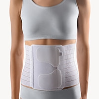 BORT PostOban® Thorax/Abdominal Support | After abdominal/thoracic surgery | weakness of the connective tissue in the abdominal area | pendulous abdomen | lesions in the abdominal cavity (peritoneum) |