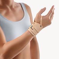 BORT Leather Wrist Strap | Sprain | wrist strain | Thumb loop |