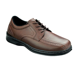 Orthofeet 467 - Men's Dressy Oxford Lace - Brown