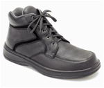 Orthofeet 481 - Men's Black Lace Boot