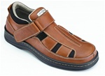 Orthofeet 572 Men's Brown Melbourne Sandals