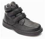 Orthofeet 581 Men's Black Strap Boot