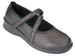 Orthofeet Celina 864 Women's Brown Manhattan Mary Jane Shoes