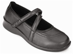 Orthofeet Celina 865 Women's Black Manhattan Mary Jane Shoes
