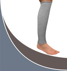 CircAid Comfort™ Silver Knee-High Footless Leg Liner