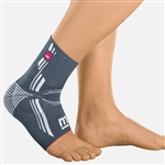 Medi Levamed Ankle Support Soft Brace for treatment of ankle pain and or discomfort,Post-op support and rehabilitation,mild instability of the ankle,ankle sprains,joint effusions and swelling in arthritis and arthrosis.