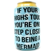 Become a mermaid with this fun new koozie!